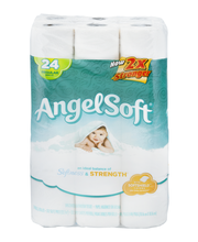 Angel Soft Bathroom Tissue 2-Ply Unscented - 24 CT