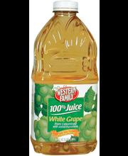 Wf White Grape Juice
