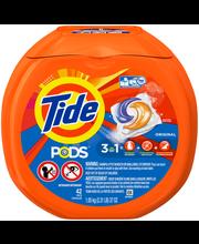 Tide® PODS Original Scent Laundry Detergent Pacs 42 ct Tub