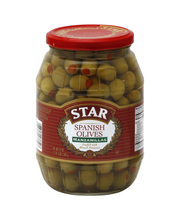 Star® Pimiento Stuffed Manzanilla Olives 21 oz. Glass Jar