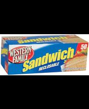 Wf Snp/Seal Sandwch Bag