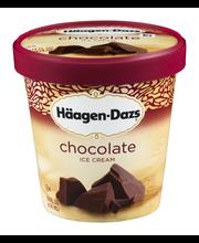 HAAGEN-DAZS Chocolate Ice Cream 14 fl. oz. Carton