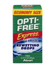 Opti-Free Express Contact Lens Rewetting Drops Economy Size