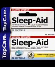 TOPCARE SLEEP AID MAX-STR SFTGL