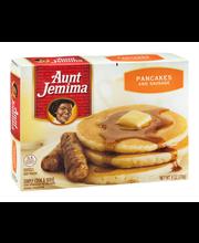 Aunt Jemima® Pancakes and Sausage 6 oz. Box