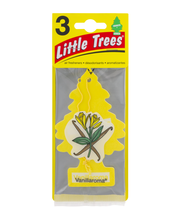 Little Trees Air Fresheners Vanillaroma - 3 CT