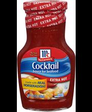 McCormick® Golden Dipt® Extra Hot Cocktail Sauce, 8 oz. Jar