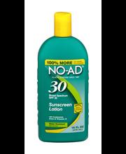 NO-AD Broad Spectrum SPF 30 Sunscreen Lotion