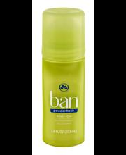 Ban Powder Fresh Antiperspirant Deodorant 3.5 fl. oz. Roll-On