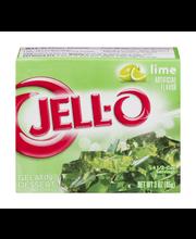Jell-O® Lime Gelatin Dessert Mix 3 oz. Box