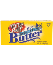 Wf Unsalted Butter Qtrs