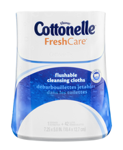 Kleenex Cottonelle FreshCare Flushable Cleansing Cloths - 42 CT