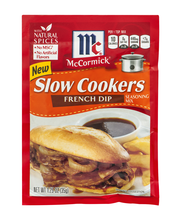 McCormick® Slow Cookers French Dip Seasoning Mix 1.25 oz. Packet
