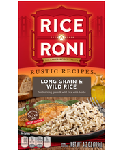 Rice-A-Roni® Rustic Recipes® Long Grain & Wild Rice Mix 4.2 o...