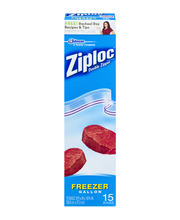 Ziploc® Double Zipper Gallon Freezer Bags 14 ct Box