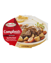 Hormel® Beef Pot Roast Compleats® 9 oz. Sleeve