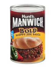 Manwich Bold Sloppy Joe Sauce 16 Oz Can