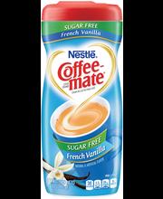 Nestle Coffeemate Sugar Free French Vanilla Powder Coffee Cre...