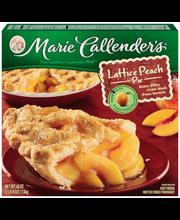Marie Callender's® Lattice Peach Pie 40 oz. Box