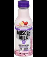 Muscle Milk® Smoothie Strawberry Banana Flavor Yogurt Protein...