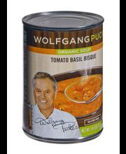 Wolfgang Puck® Organic Tomato Basil Bisque, 14.5 oz.