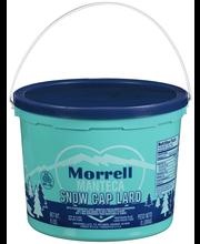 Morrell Snow Cap® Lard 8 lb. Pail