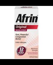 Afrin® Original Maximum Strength Nasal Spray .5 fl. oz. Box