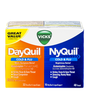 Vicks® DayQuil®/NyQuil® Cold & Flu Non-Drowsy Multi-Symptom/N...