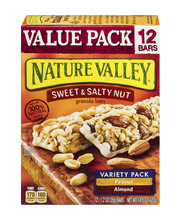 Nature Valley Sweet & Salty Nut Granola Bars Value Pack/Varie...