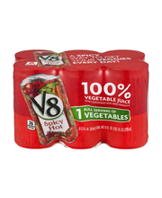 V8 Spicy Hot 100% Vegetable Juice 6-5.5 fl. oz.