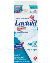 Lactaid 70% Lactose Free Lowfat Milk .5 Gal Carton
