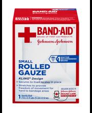 Johnson & Johnson First Aid 2 in. x 2.5 yd. Small Rolled Gauz...