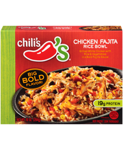 Chili's® Chicken Fajita Rice Bowl Frozen Dinner 10 oz. Box