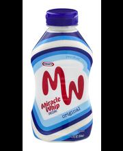 Kraft Miracle Whip Dressing 12 fl. oz. Bottle