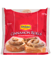 Rhodes Bake N Serv® Cinnamon Rolls with Cream Cheese Frosting...