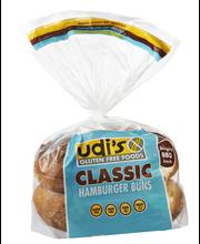 Udi's® Gluten Free Classic Hamburger Buns 10.4 oz. Bag