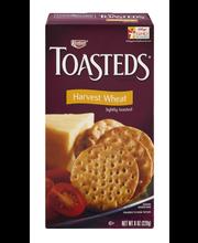 Keebler® Toasteds® Harvest Wheat Crackers 8 oz. Box
