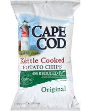 Cape Cod Kettle Cooked Original Reduced Fat Potato Chips 8 Oz...