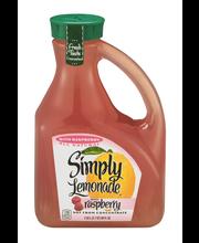 Simply Lemonade® with Raspberry 2.63L Plastic Jug