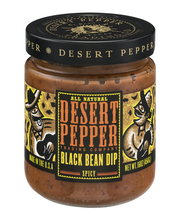 Desert Pepper Trading Company All Natural Black Bean Dip Spicy