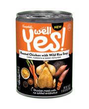 Campbell's® Well Yes!™ Roasted Chicken with Wild Rice Soup 16...