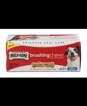 Milk-Bone Brushing Chews Daily Dental Treats - Small/Medium, 5.5-Ounce - 7 Bones