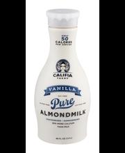 Califia Farms Vanilla Pure Almondmilk