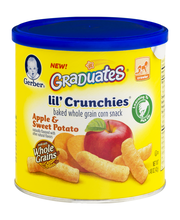 Gerber® Graduates® Lil' Crunchies® Apple & Sweet Potato Baked...