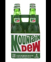 Mountain Dew Bottles - 4 CT