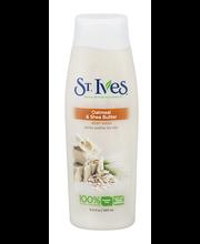 St. Ives® Oatmeal & Shea Butter Body Wash 13.5 fl. oz. Bottle