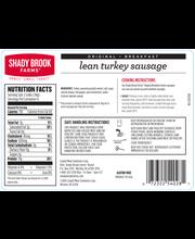 Shady Brook Farms Fresh Breakfast Turkey Sausage (1 lb)