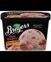Breyers® Natural Strawberry Ice Cream 1.5 qt