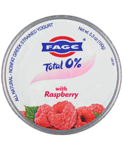Fage® Total 0% Greek Strained Yogurt with Raspberry 5.3 oz. Cup