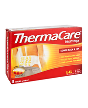 ThermaCare® Lower Back & Hip Pain Therapy Heatwraps 2 ct Box